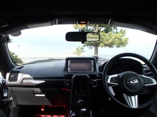 コペンローブの運転席